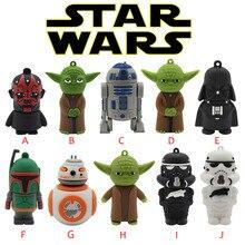 BiNFUL wars star Yoda Darth Vader pendrive 4G 8G 16G 32G 64G Usb 2,0 Usb flash drivdriveck Pendrive