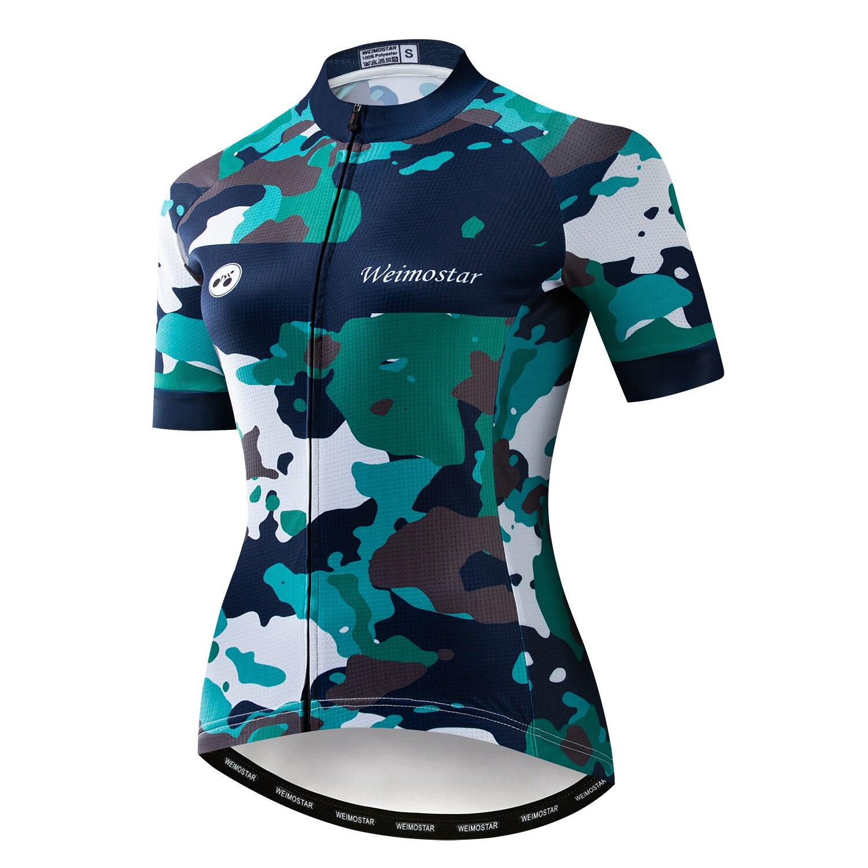 Ropa De Ciclismo De montaña para mujer, Maillot corto, Verano