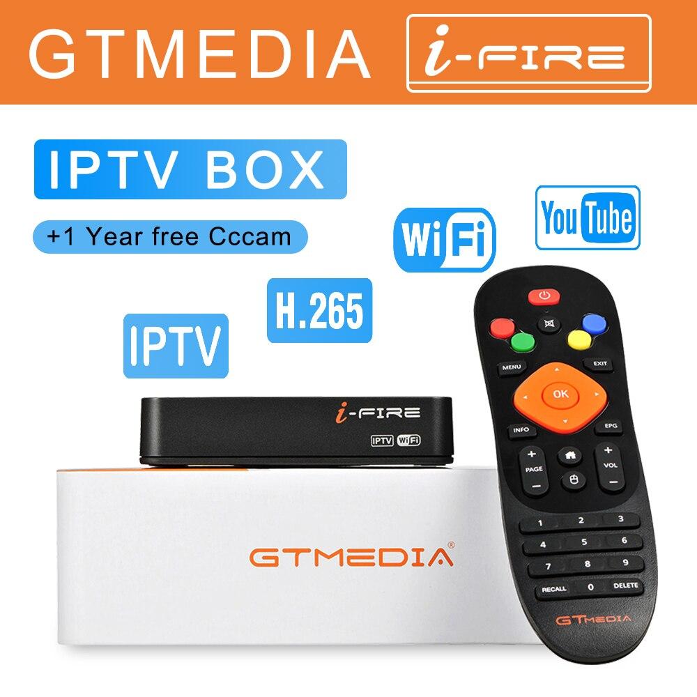 Nouvelle boîte de télévision GTmedia IFIRE 4K h.265 HDR STB prise en charge Ultra HD m3u Xtream IP TV Youtube lecteur multimédia