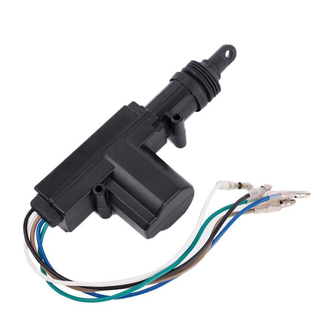 Universal Heavy Duty Power Door Lock Actuator Motor 2 Wire 12V Car Locking System Single Gun Type Kit