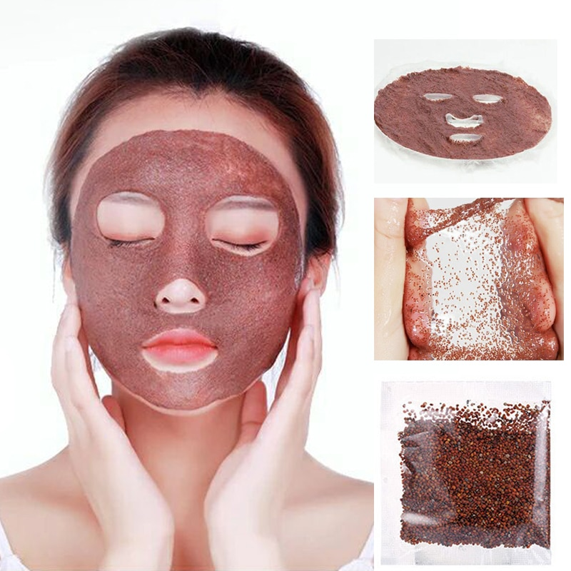 10-100Pcs Natural Moisturizing Seaweed Clay Mask Collagen Deeply Hydrates Anti-Aging Whitening Cleans Pores And Face Skin Care