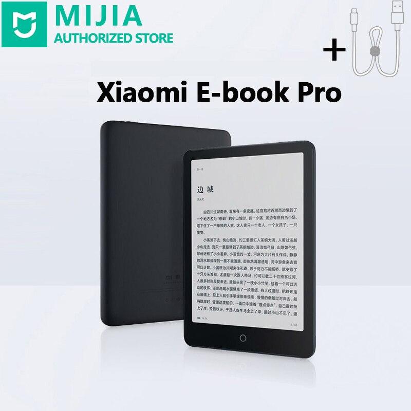 Xiaomi-Mi Mijia Pro قارئ الكتب الإلكترونية ، 2 جيجابايت ، wi-fi ، Bluetooth ، HD ، شاشة تعمل باللمس 7.8 بوصة ، ضوء أمامي مدمج ، إدخال صوت خفيف الوزن ورقيق