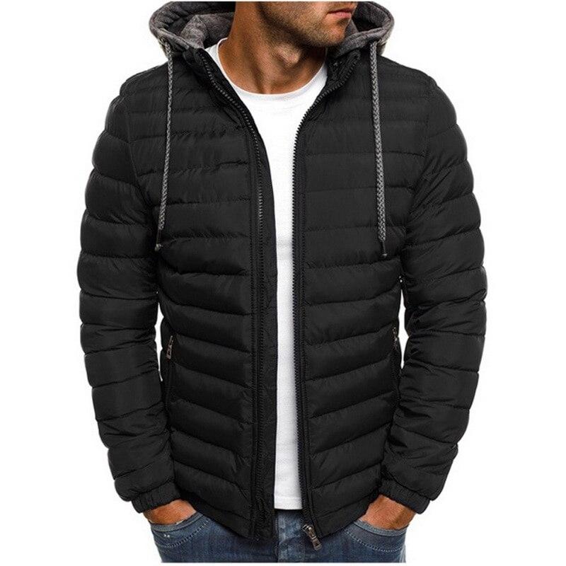 JODIMITTY 2021 зимние куртки с капюшоном, стеганая куртка, мужские утепленные легкие парки, новые мужские ветрозащитные куртки