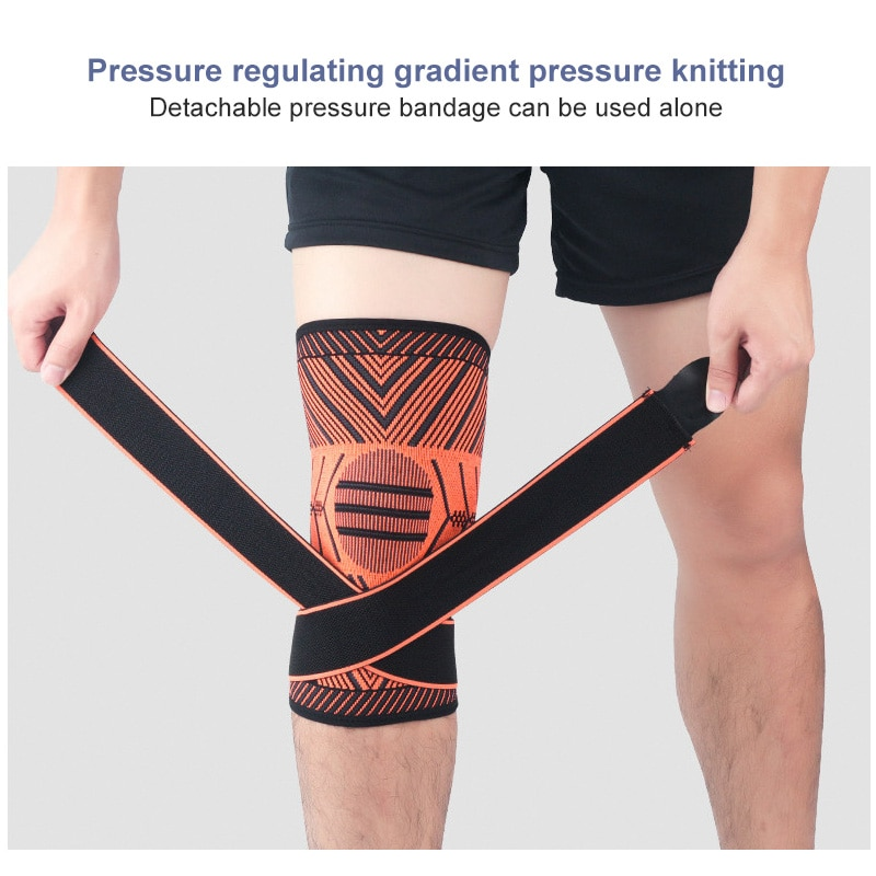 1 PCS Knee Pads Braces Sports Support Kneepad Men Women For Arthritis Joints Protector Fitness Compression Sleeve