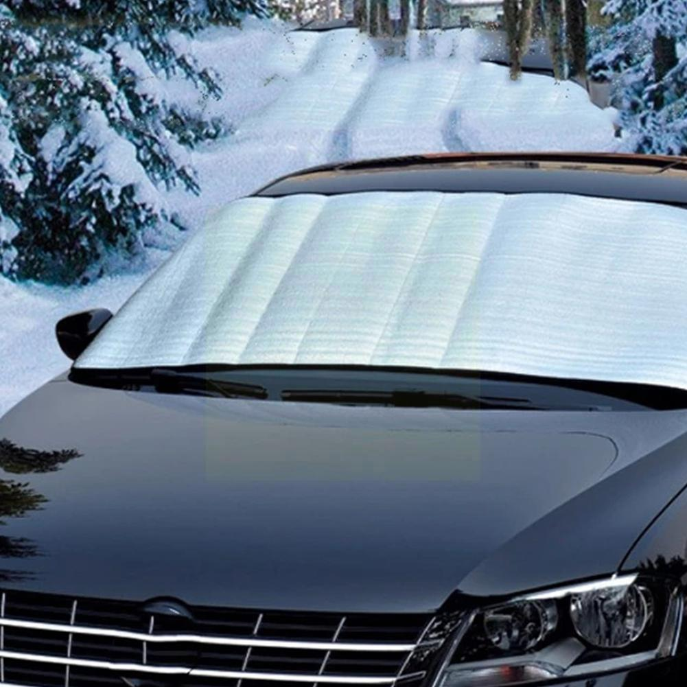 150cm x 70cm Portable Car Universal Sunscreen Windscreen Anti Frost Heat Cover Dust Shade Sun Summer Protector UV F8F0