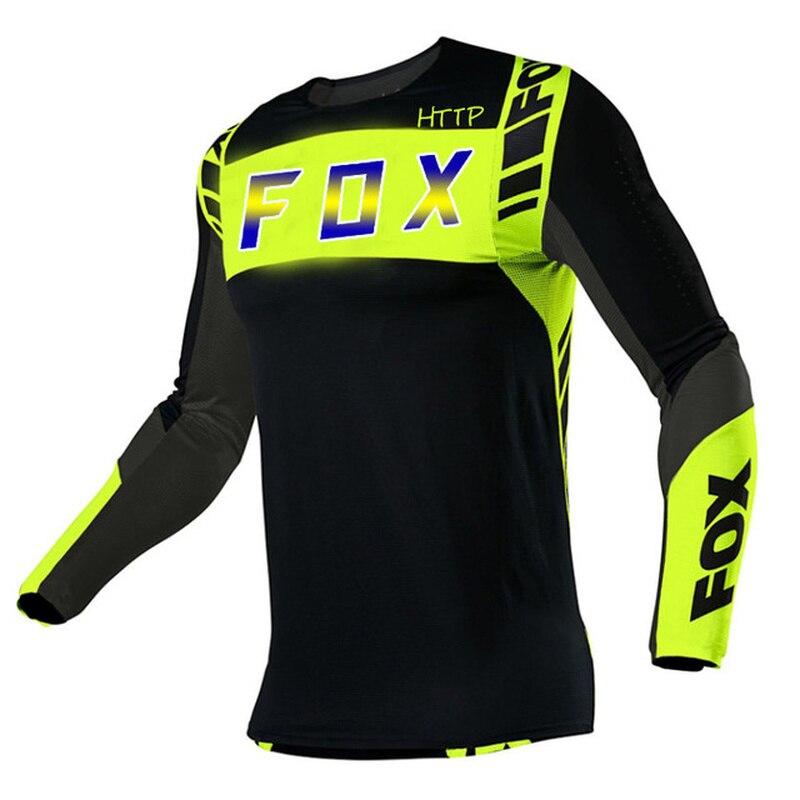 Camiseta de Motocross para Hombre, Maillot DH para Ciclismo de montaña, secado...