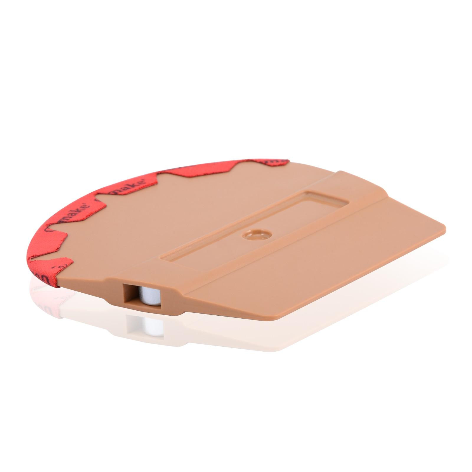 Rascador exprimidor imán de vinilo FOSHIO con paño de microfibra herramientas de envoltura de coche herramientas de envoltura de fibra de carbono herramienta de tinte de ventana accesorios de coche