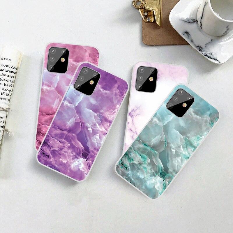 Funda de mármol para Samsung Galaxy S7 S6 Edge Plus, funda de TPU suave transparente, funda para Samsung S3 S4 S5 Mini, moda, barata