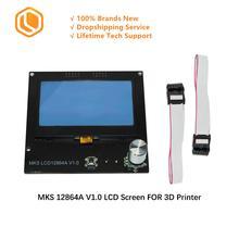 SIMAX3D 3D imprimante pièces MKS 12864A V 1.0 LCD écran panneau de commande écran daffichage affichage intelligent bricolage 3D imprimante accessoires