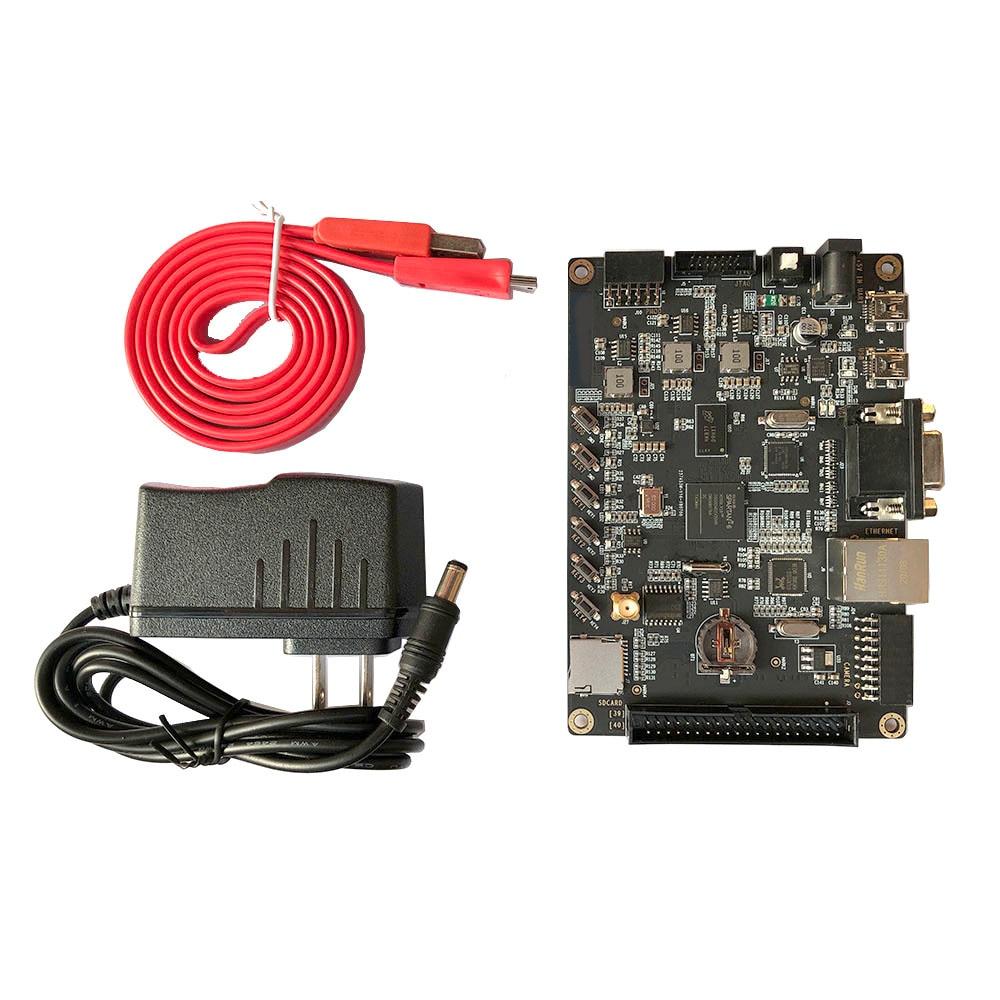 FPGA Development Board XILINX Spartan-6 XC6SLX16 Board with 1Gbit DDR3 + VGA + USB2.0 + Gigabit Ethernet + UART + SD Card enlarge