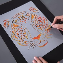 Main dessin pochoir outils enfants jouet bricolage Photo nouveauté jouet éducatif divers Styles Art fournitures jouet créatif pour les enfants