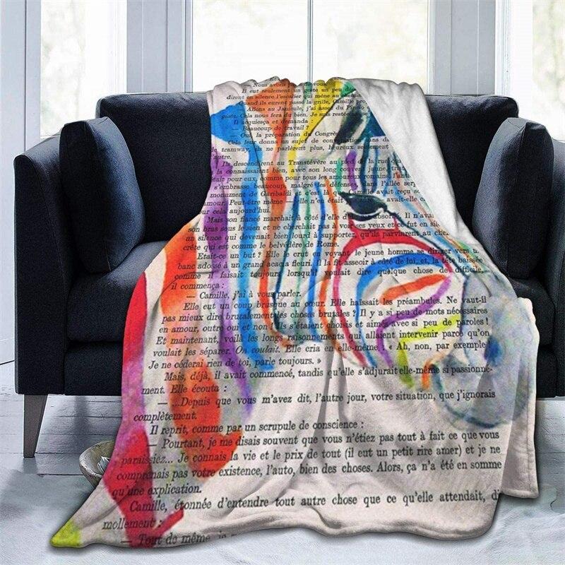 Rainbow زيبرا رئيس الخردل رمي بطانية ثلاثية الأبعاد طباعة على الطلب Sherpa سوبر مريحة ل أريكة رقيقة لحاف تكييف الهواء السفر