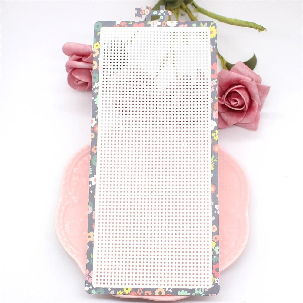 Ypp artesanato bordado aro corte de metal morre estênceis para diy scrapbooking decorativo gravando cartões de papel diy