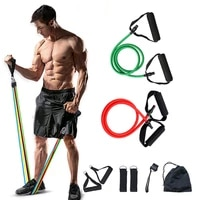 latex resistance bands fitness rope set word tension band muscle training fitness equipment latex elastic rope