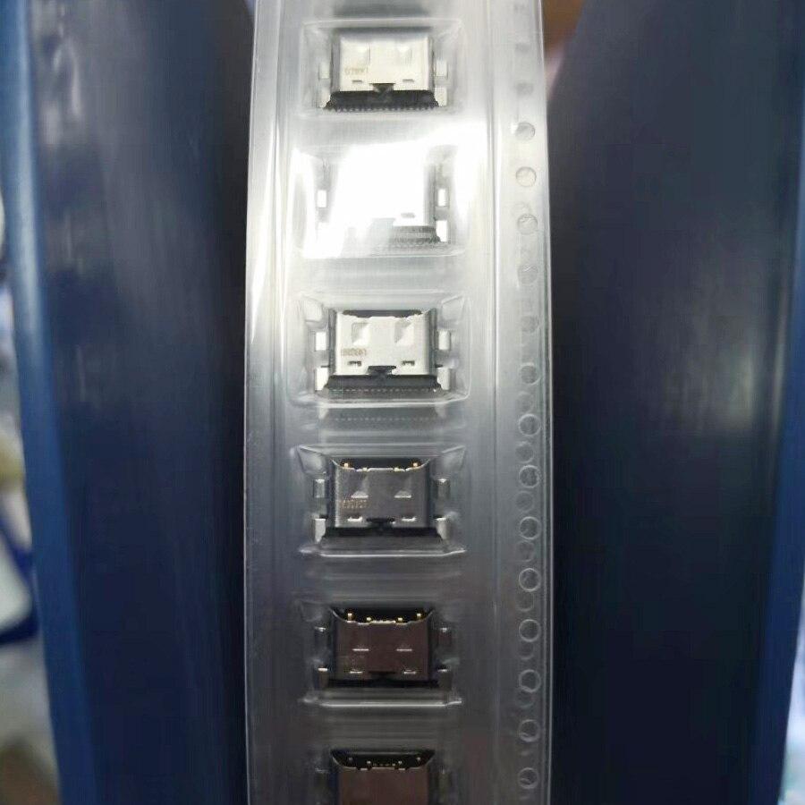 10 unids/lote para Huawei MATE 20 Lite Maimang 7 / Honor V10 / Honor Play puerto de carga USB conector de conector enchufe