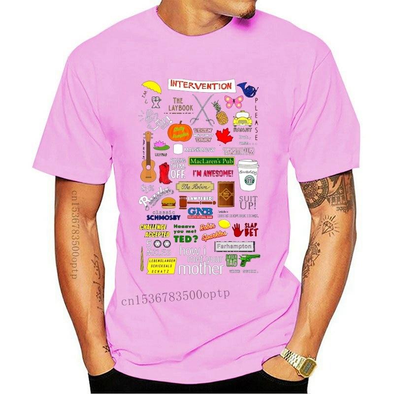 New Bet T Shirt How I Met Your Mother T Shirt Cotton Mens Tee Shirt Short Sleeve Big Graphic Cute Beach Tshirt 010448