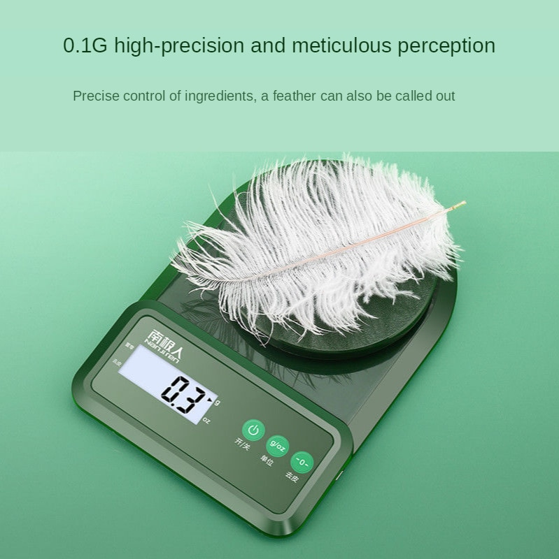 Kitchen Electronic Scale High Precision Gram Measuring Scale Food Jewelry Scale Accurate Baking Scal