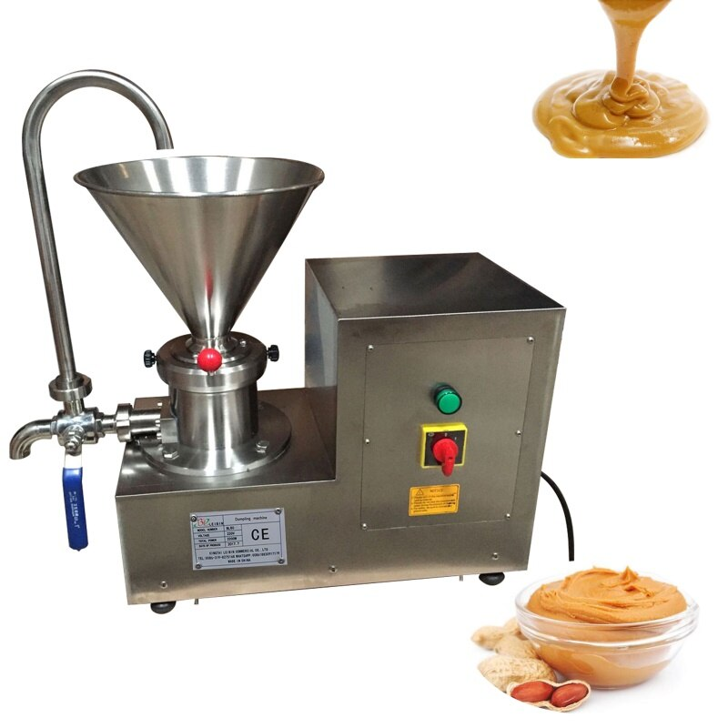 Acero inoxidable mantequilla de maní pasta de sésamo molinillo de salsa de Chile máquina de molino coloidal bitumen máquina de hacer cacao