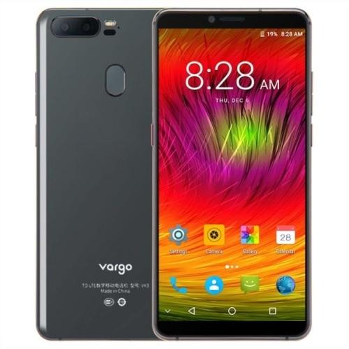 Перейти на Алиэкспресс и купить Оригинальный Варго VX3 5,7 дюймов Android 7,1 MTK6757 4 аппарат не привязан к оператору сотовой связи мобильный телефон 6 ГБ Оперативная память 128 Гб Вст...