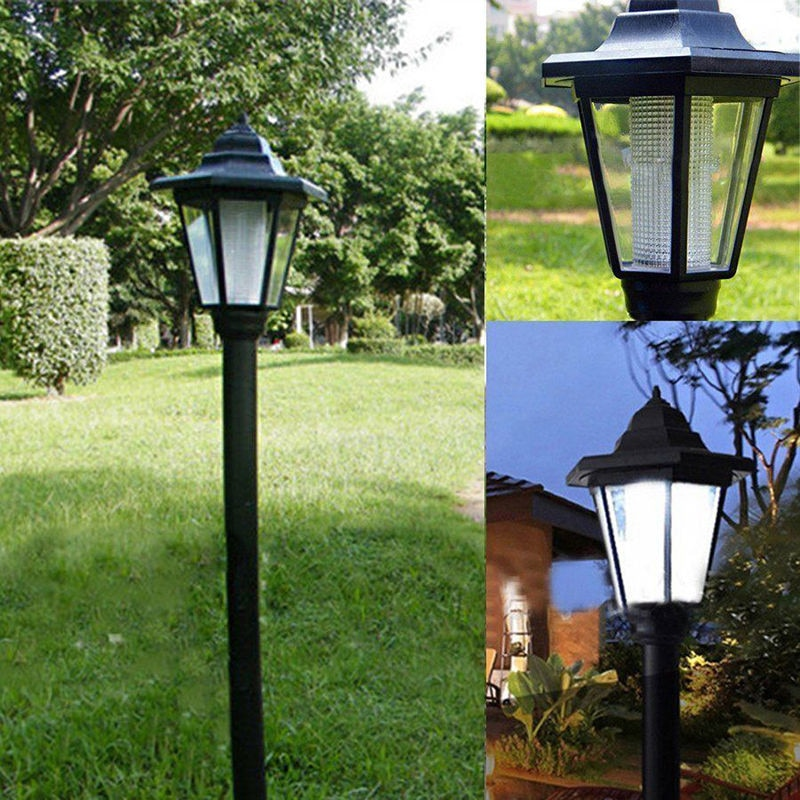 2020 New Household Items Solar Power Led Way Wall Landscape Mount Garden Fence Outdoor Lamp Light Т