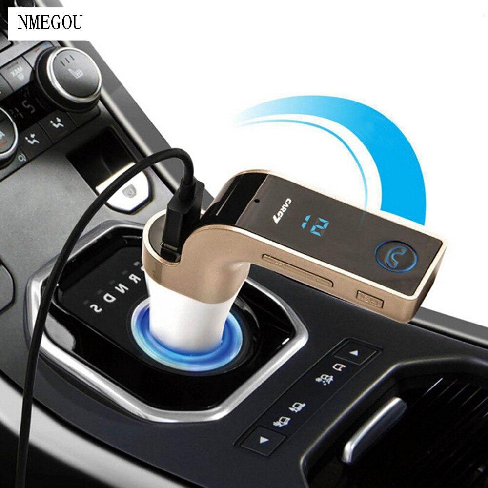 Carro sem fio mp3 player bluetooth rádio fm transmissor bluetooth mãos livres receptor de música áudio mp 3 suporte lcd tf sd porta usb