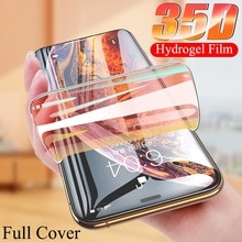 9999D Full Cover For iPhone 11 12 Pro XS Max X XR 12 mini Screen Protector iPhone 8 7 6 6S Plus Hydr