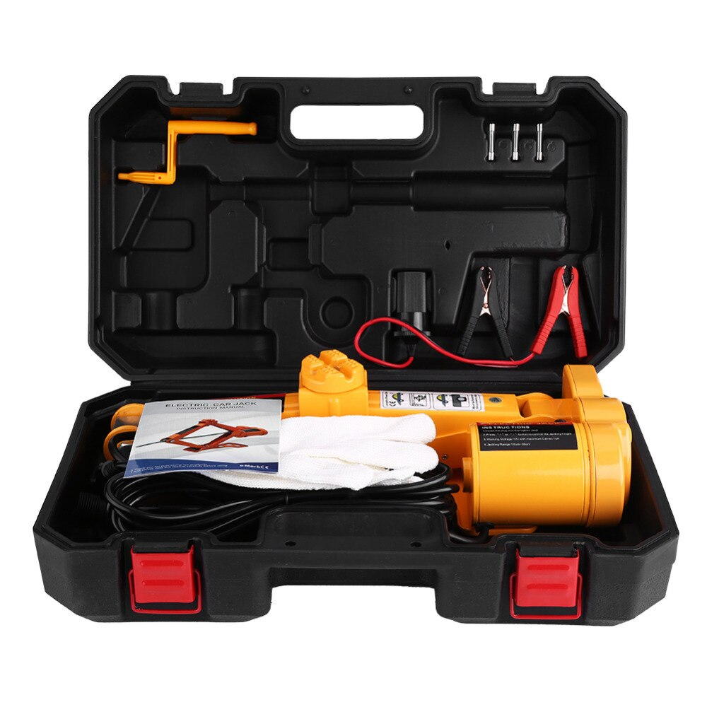 2 Ton 12V Car Electric Jack Automatic Lifting Jack Garage and Emergency Equipment Repairing Tools