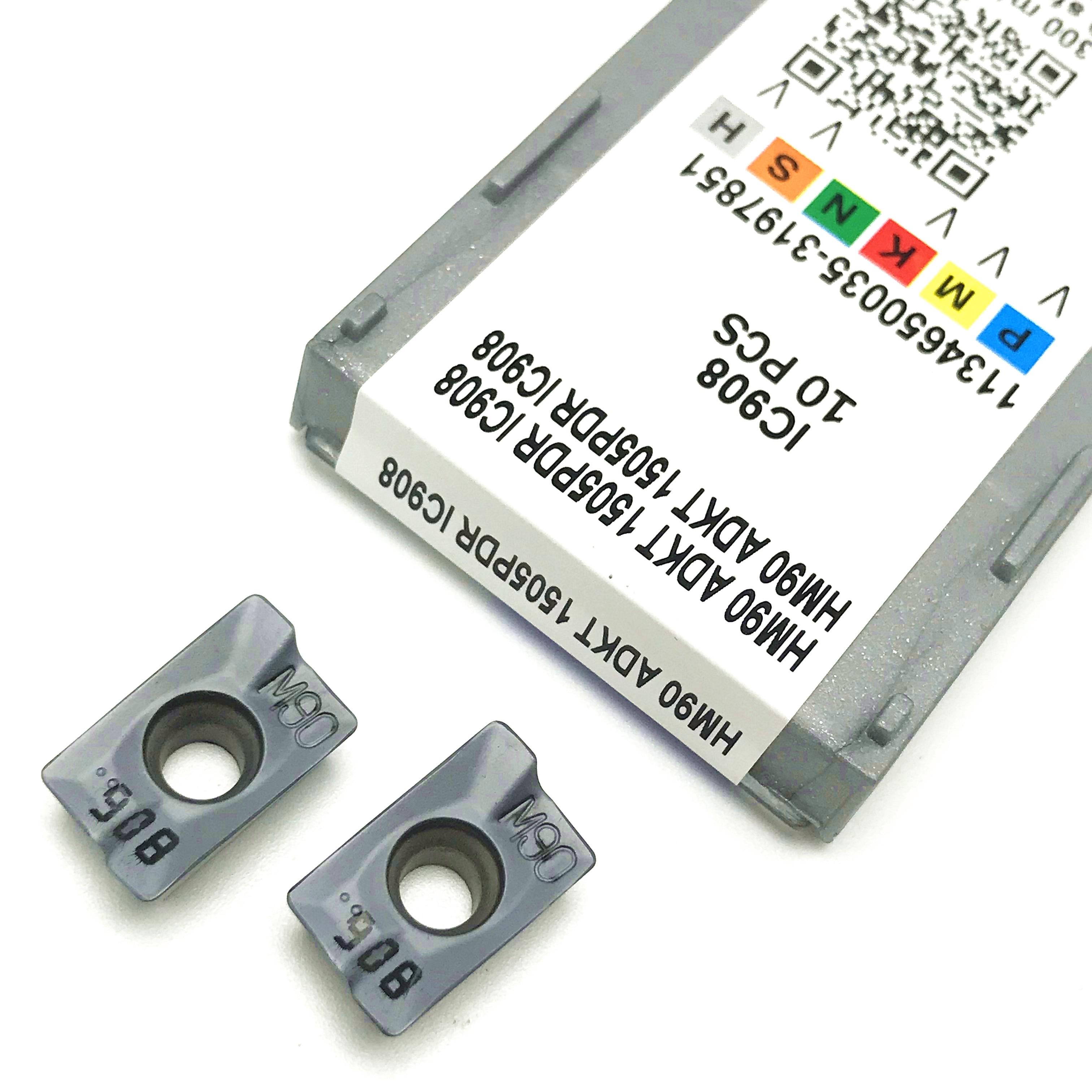 ISC ramię frez HM90 ADKT 1505PDR IC908 frez tokarka cnc frez, wydajne narzędzie obróbcze.