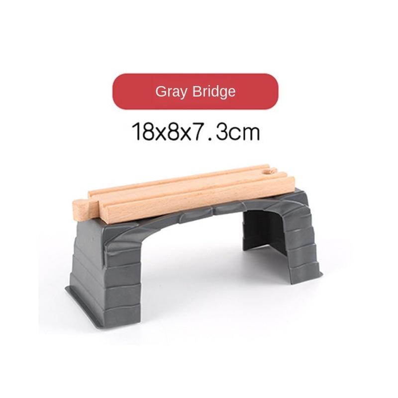 Plástico Simulação Cena Tunnel Gruta Compatível Fit Brio Trem Educacional de Madeira Brinquedo de Presente de Natal do Menino/Crianças de Madeira P163