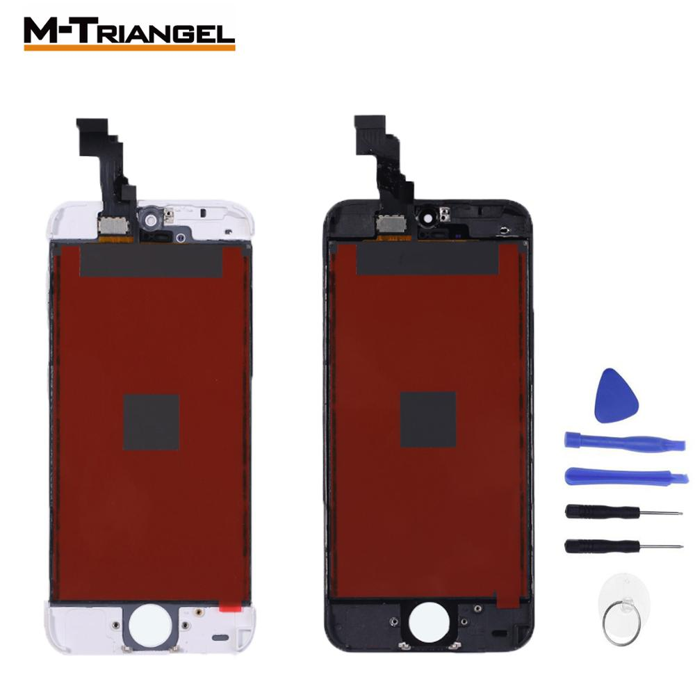 AAA + OEM сенсорный экран для iphone 5S 5C SE стекло для iphone 6 lcd 6P 6SP 7 8 ЖК-экран Замена дигитайзер сборка ремонт