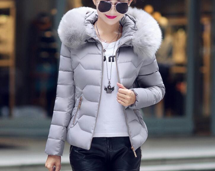 Hot 2020 Winter New Fashion Short Cotton Jacket Ladies Small Cotton Jacket Large Size Hooded Jacket Thick Warm Cotton Jacket
