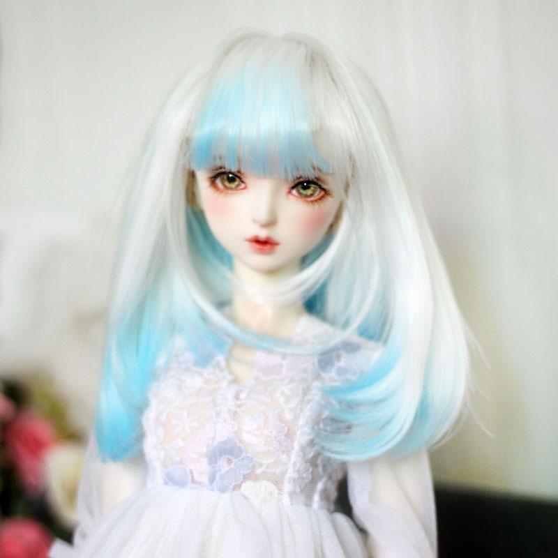 Muñeca BJD sd peluca que cambia de color cubierta de la peluca 1/3 1/4 1/6 muñeca accesorios de muñeca de pelo Juguetes