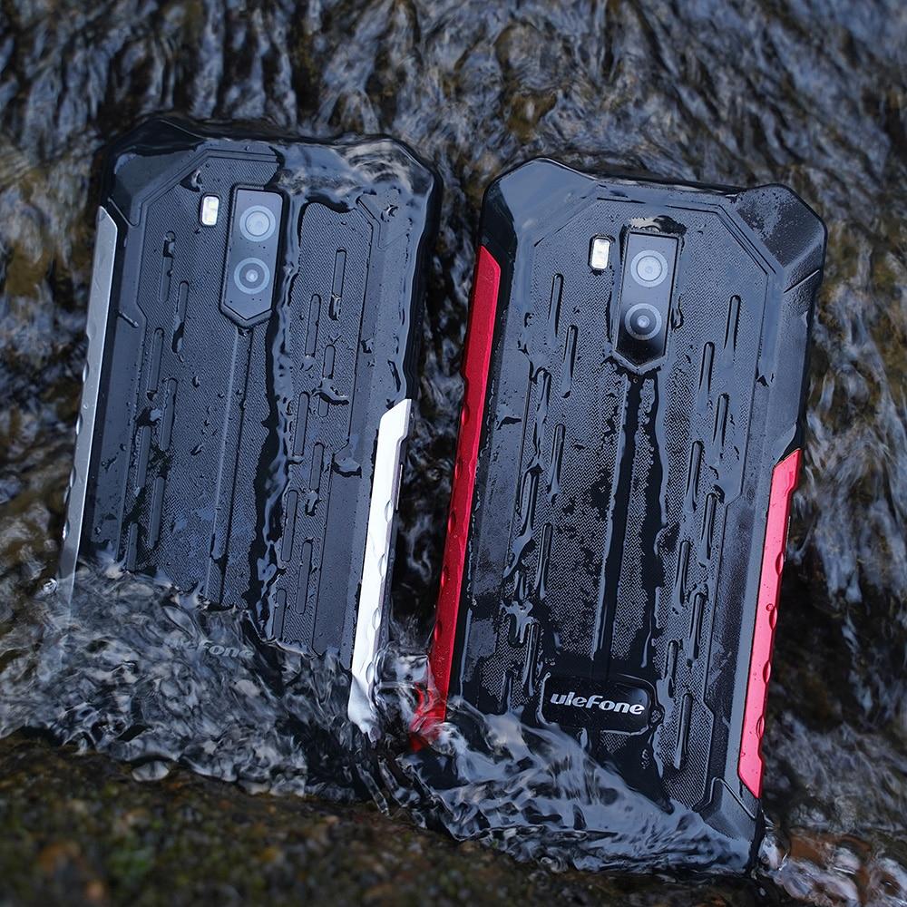 Перейти на Алиэкспресс и купить Ulefone Armor X5 Pro 4 Гб + 64 Гб Восьмиядерный процессор прочный водонепроницаемый смартфон Android 10,0 мобильный телефон NFC 4G LTE мобильный телефон