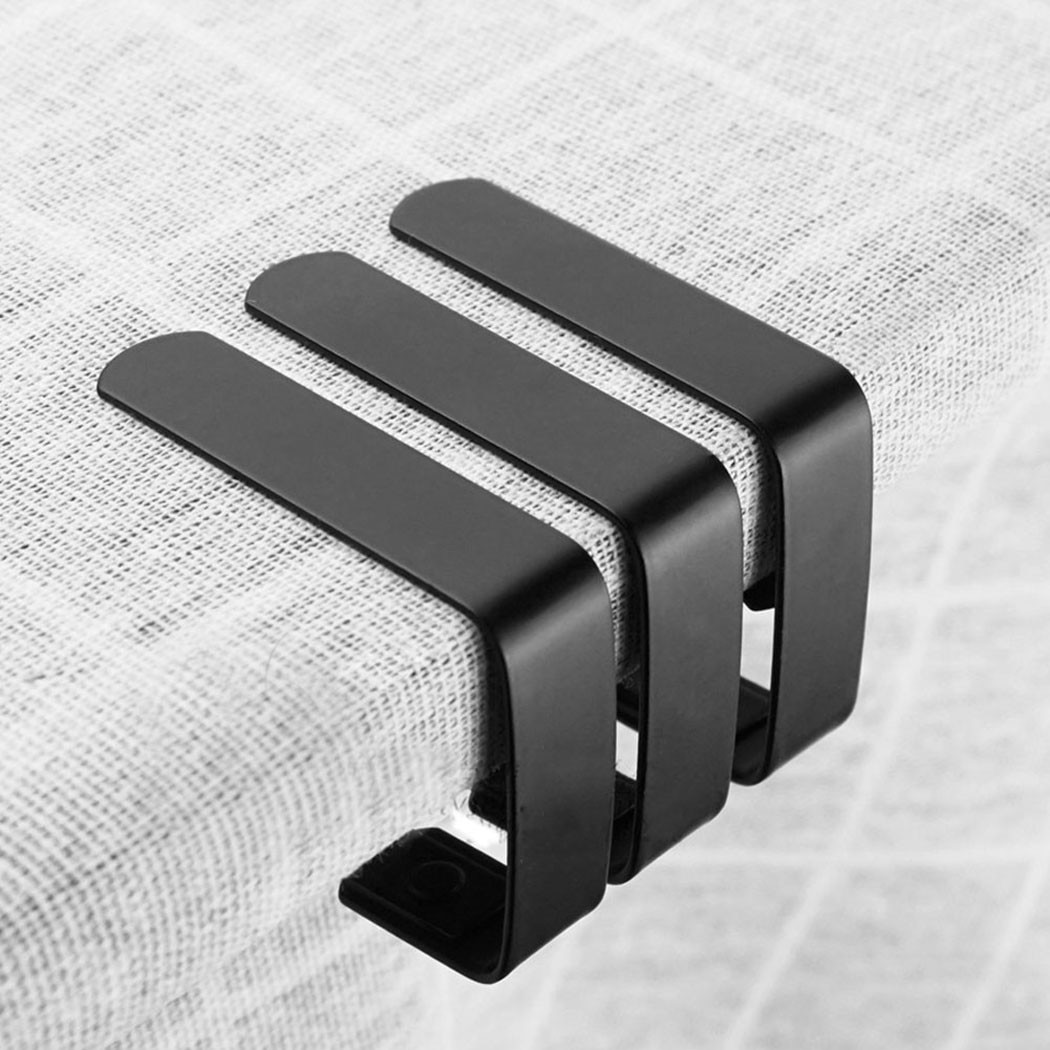 4 шт., зажимы для скатерти, из нержавеющей стали