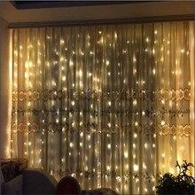 Ue Plug 3x 3 m/6x3 m glaçon guirlande lumineuse LED rideau fée lumières extérieur/intérieur noël/mariage/fête/décoration de jardin