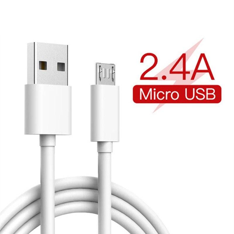 Cable USB a Micro Usb 1 metro de Cable Usb retráctil Cable Mikro USB Kablo para Huawei Honor Y3 Y5 Y6 Y9 Y7 Pro primer 2018 de 2017 7C 6C