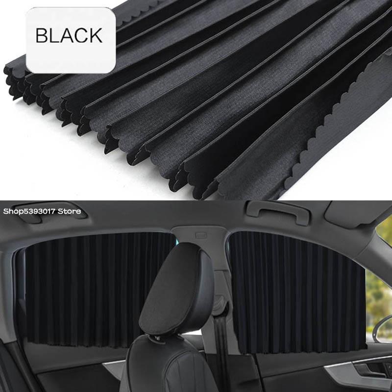 Para Nissan X-trail Xtrail de T32 2020, 2019 de 2018 parasol de ventana lateral cubierta Anti UV protección cortina plegable retráctil parasol