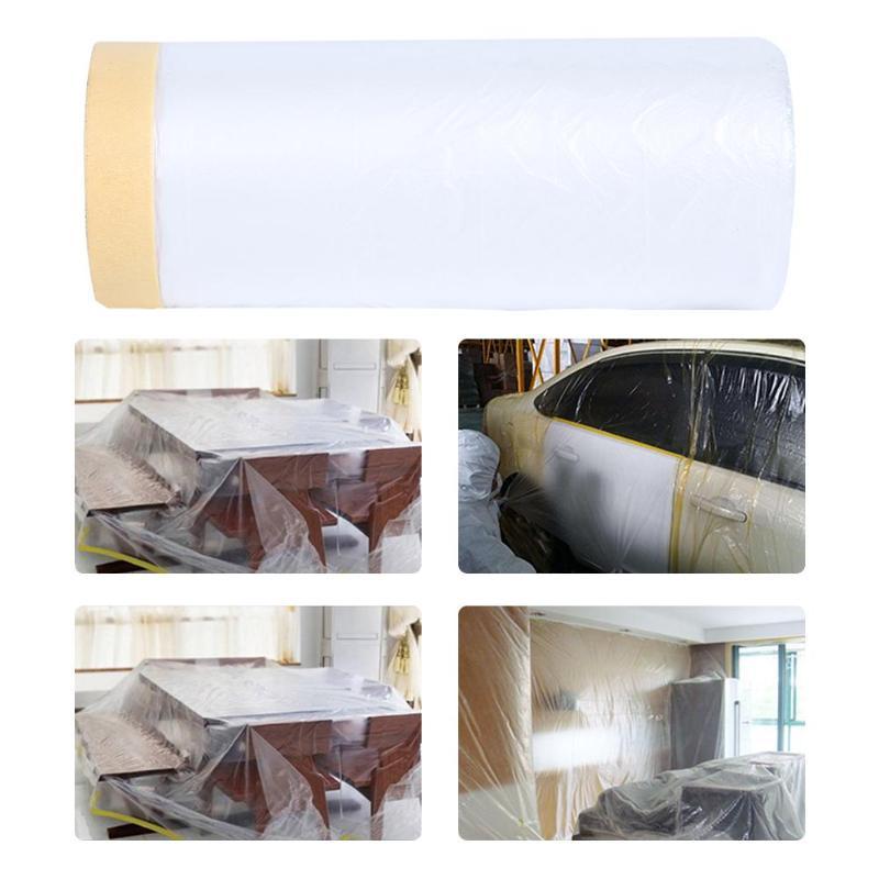 25 m/82ft pregrabado película protectora para el cuidado del coche pintor accesorios para el hogar
