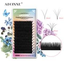 Abonnie V/W Premium Mink Individual Eyelash Trays Custom 8-12mm Lash Extentions Tray Synthetic Matte