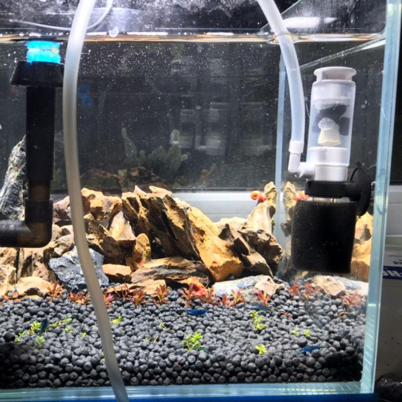 Bomba de ar para aquário, mini filtro de esponja biocênica, bomba de oxigênio, produtos para tanque de peixes
