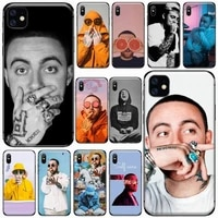fashion american rapper mac miller phone case for iphone 11 12 pro xs max 8 7 6 6s plus x 5s se 2020 xr soft silicone cover
