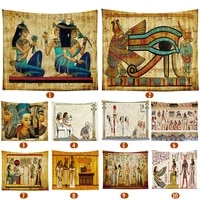 ancient egypt mysterious pattern tapestry wall hanging tapestries bedroom bedspread hippie egyptian old culture wall decor
