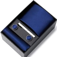 solid navy blue 100 silk mens tie neck red ties ties for men formal business luxury wedding neckties gravatas