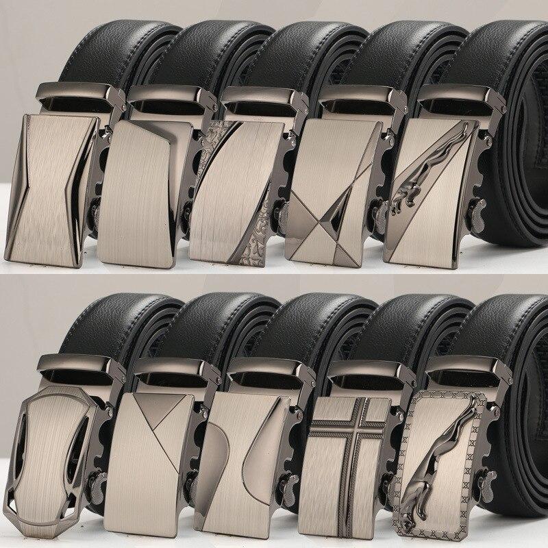 Новый мужской ремень, роскошные брендовые дизайнерские ремни, мужские ремни из натуральной кожи с автоматической пряжкой Riemen Ceinture Ceintures Homme Cinto Masculino