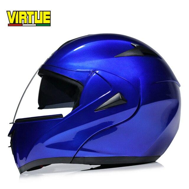 High Quality Motorcycle Flip Up Helmet  DOT Tourbike Modular Casque Moto Dual Visor System Full Face