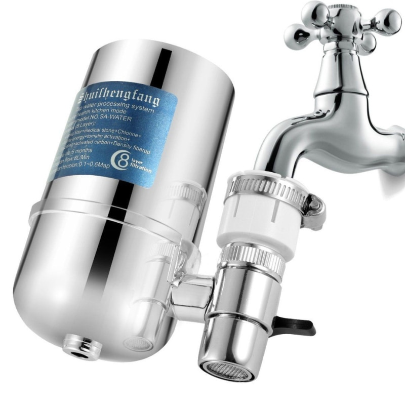 Fast Delivery 1PCS Durable Anticorrosive Faucet Water Filter Kitchen Sink Bathroom Mount Filtration Tap Purifier System