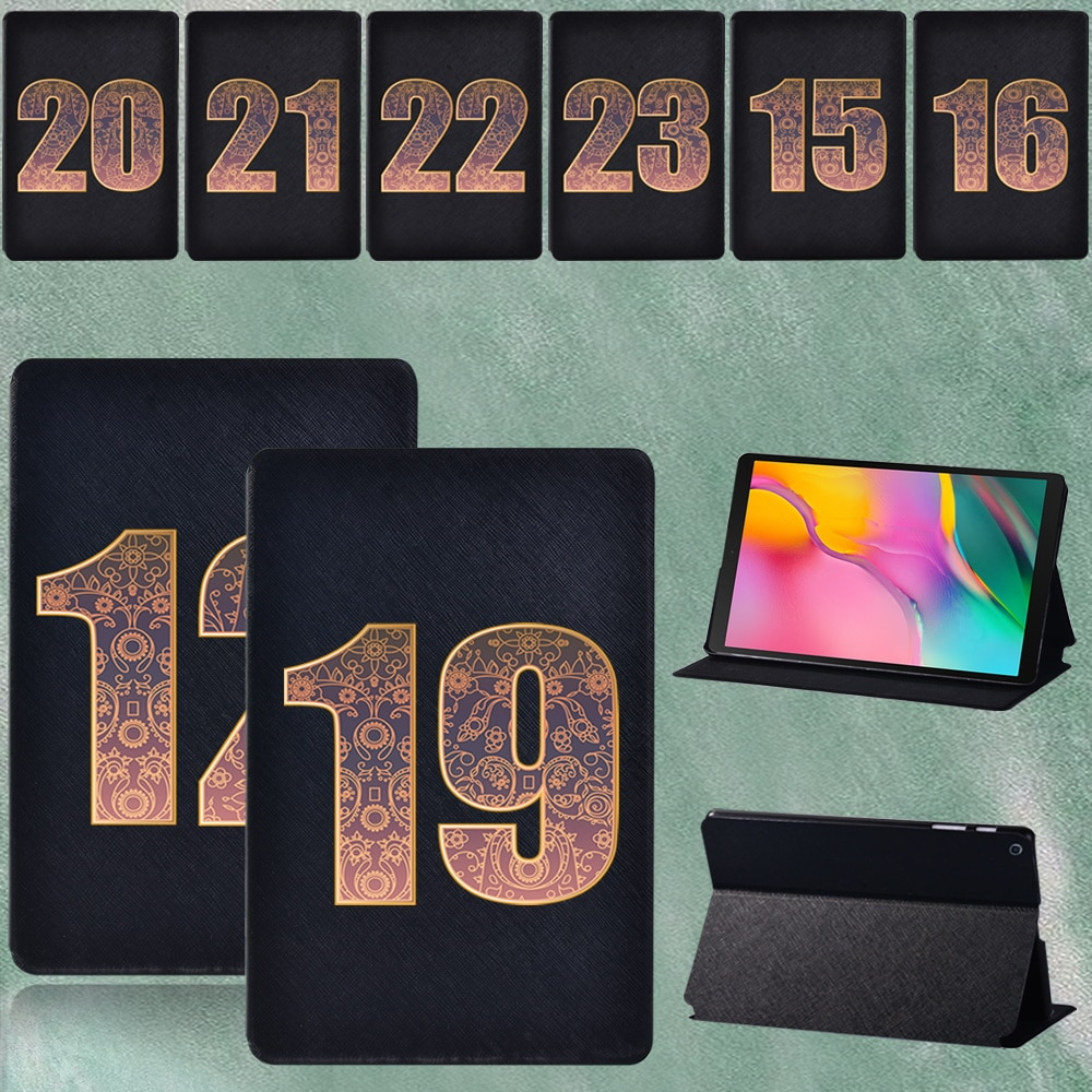 For Samsung Galaxy Tab A SM-T290 T295 8.0 Inch Shockproof Folding Stand Pu Leather Tablet Case Cover + Stylus