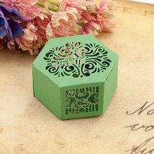 KLJUYP Hexagonal Box Metal Cutting Dies Stencils for DIY Scrapbooking/photo album Decorative Embossing DIY Paper Cards