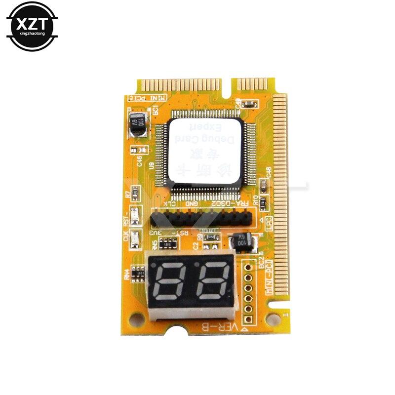 Диагностическая почтовая карта USB Mini pci-e PCI E PCI LPC анализатор ПК тестер pci express адаптер тестера для ноутбука ExpressCard