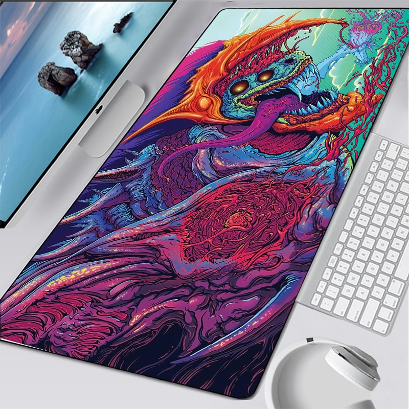 CSGO Large Game Mouse Pad Mat Laptop Gaming Mousepad XL Anti-slip Rubber  Gamer Mouse Pad Fashion Office Desk Computer Table mat new arrival slim elegant anti slip aluminum alloy computer gaming mouse pad mat mousepad